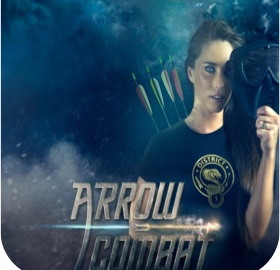 logo arrow combat par playitlive