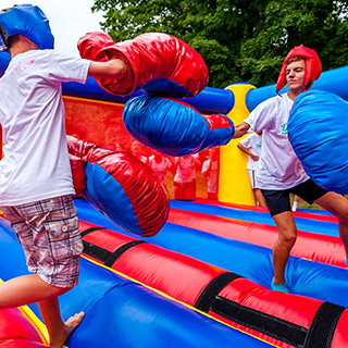 boxe enfants fun