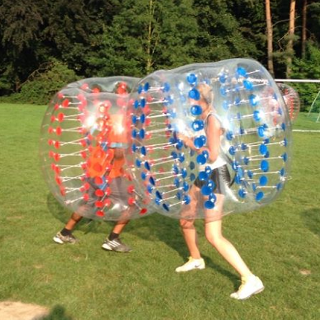 Bubble soccer avec playitlive